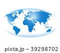 ビジネス グローバル 世界地図のイラスト 39298702