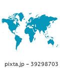 ビジネス グローバル 世界地図のイラスト 39298703