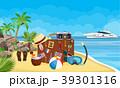 ビーチ マンガ 漫画のイラスト 39301316