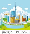 東京 東京スカイツリー 都会のイラスト 39305528