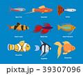 ベクトル サカナ 魚のイラスト 39307096