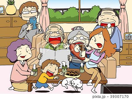 4世代家族 39307170