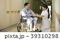 病院 車椅子 シニア男性 39310298
