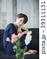 女性 アジア人 座るの写真 39311131
