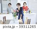 女性 アジア人 キッチンの写真 39311265