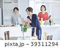 女性 アジア人 キッチンの写真 39311294