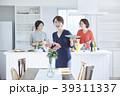 人物 女性 キッチンの写真 39311337