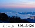 夕景 夕暮れ 下関市の写真 39313420
