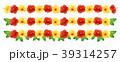 ハイビスカス トロピカル 植物のイラスト 39314257