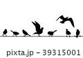 鳥 配線 針金のイラスト 39315001