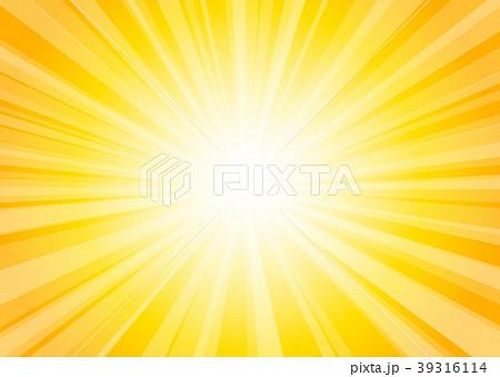 黄色放射状背景 39316114
