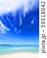 沖縄の美しい海とさわやかな空 39318042