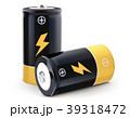 バッテリー 電池 3Dイラストのイラスト 39318472