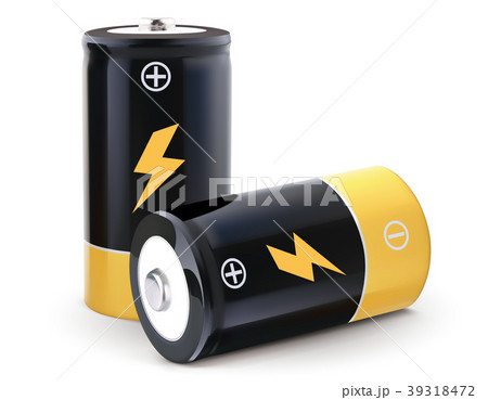 Battery realistic vector 3d Illustration 39318472