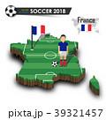 サッカー フランス 仏蘭西のイラスト 39321457