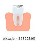 ベクトル 歯 歯科医のイラスト 39322395
