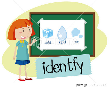 wordcard for identifyのイラスト素材 39329976 pixta
