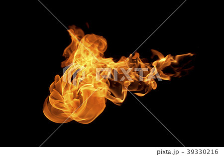 Fire flames collection 39330216