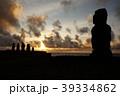 イースター島 モアイ モアイ像の写真 39334862