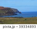 イースター島 モアイ モアイ像の写真 39334893