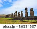 イースター島 モアイ モアイ像の写真 39334967