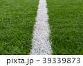 人工芝と直線ライン 39339873