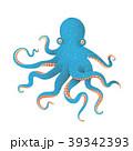 タコ たこ 蛸のイラスト 39342393