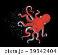 タコ たこ 蛸のイラスト 39342404