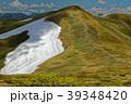 残雪の谷川連峰・平標山 39348420
