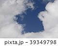 日本の雲風景・青空と雲 39349798