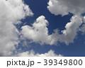 日本の雲風景・青空と雲 39349800