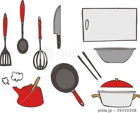 キッチンの素材セット 39350308