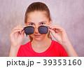 めがね メガネ 穴の写真 39353160