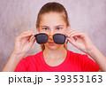 めがね メガネ 穴の写真 39353163