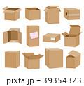 BOX ボックス ダンボールのイラスト 39354323