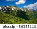 山 残雪 大源太山の写真 39355118