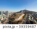南山公園とソウル市街の風景 39359487