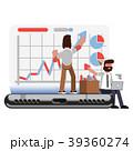 PC ノートパソコン コンピュータのイラスト 39360274