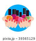 化粧品 マニキュア ネイルのイラスト 39365129