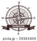 コンパス 羅針盤 方位磁石のイラスト 39365809
