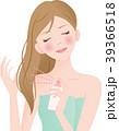 ヘアスプレー ヘアミスト 女性のイラスト 39366518