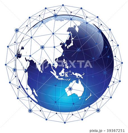 ネットワーク素材 39367251