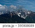北岳 南アルプス 残雪の写真 39368689