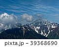 北岳 南アルプス 残雪の写真 39368690