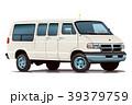 アメ車バン・ホワイト1 39379759