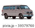 アメ車バン・グレー 39379760