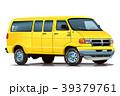 アメ車バン・イエロー 39379761