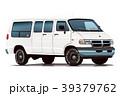 アメ車バン・ホワイト2 39379762