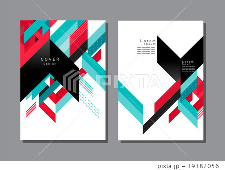 cover design template layout design annual reportのイラスト素材