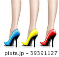 靴 女性 ベクターのイラスト 39391127